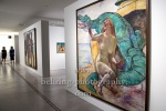 """""""Angelica mit Drachen"""" - """"Berlinische Galerie: Neuerwerb """"Bacchant"""" von Lovis Corinth"""", Pressekonferenz, Berlin, 13.07.2021 (Photo: Christian Behring)"""
