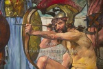 """""""Odysseus im Kampf mit den Freiern"""" - """"Berlinische Galerie: Neuerwerb """"Bacchant"""" von Lovis Corinth"""", Pressekonferenz, Berlin, 13.07.2021 (Photo: Christian Behring)"""