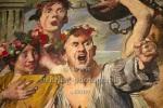 """""""Die Freier im Kampf mit Odysseus"""" - """"Berlinische Galerie: Neuerwerb """"Bacchant"""" von Lovis Corinth"""", Pressekonferenz, Berlin, 13.07.2021 (Photo: Christian Behring)"""