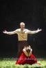 """Guenter Pappendell (Jewgeni Onegin), Asmik Grigorian (Tatjana), """"JEWGENI ONEGIN"""" (Libretto von Pjotr Tschaikowski und Konstantin S. Schilowski nach dem Roman von Alexandr Puschkin), (Premiere am 31.01.2016) Fotoprobe in der Komischen Oper am 27.01.2016 in Berlin, Deutschland, [Photo: Christian Behring]"""