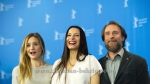 "Anne Zohra Berrached (Regisseurin, Autorin/ Director, Writer), Carl Gerber (Autor/ Writer)Johanna Gastdorf (Schauspielerin/ Actress), Julia Jentsch (Schauspielerin/ Actress), Bjarne Maedel (Schauspieler/ Actor), Emilia Pieske (Schaupielerin/ Actress), attends the ""24 WOCHEN"" - photo call at the 66th Berlinale, Berlin 14.02.16 [Photo: Christian Behring]"