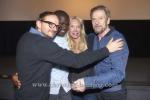 """""""Der Andere - Eine Familiengeschichte"""" (am 21.11.2016 um 20.15 Uhr im ZDF), Milan Peschel, Nama Traore, Regisseurin Feo Aladag, Jesper Christensen, Photo Call im Kant-Kino, Berlin, 13.11.2016 [Photo: Christian Behring]"""