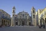 Catedral de la habana, Plaza de la Catedral, la habana vieja, Havanna, Cuba, 28.01.2015 [(c) Christian Behring, www.christian-behring.com]