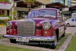 Mercedes 190 D, Parkplatz in Miramar, Havanna, Cuba, 29.01.2015 [(c) Christian Behring, www.christian-behring.com]