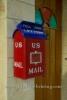 US-Amerikanischer Briefkasten an einem Wohnhaus in Miramar, Havanna, Cuba, 30.01.2015 [(c) Christian Behring, www.christian-behring.com]