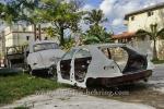 Autowracks in Miramar, Havanna, Cuba, 30.01.2015 [(c) Christian Behring, www.christian-behring.com]