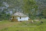 Wohnhaus, Bei einem privaten Tabakbauern in Valle de Vinales (das Tal von Vinales), Cuba, 21.01.2015 [(c) Christian Behring, www.christian-behring.com]