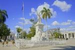 Denkmal Jose Marti im Parque Marti, Cienfuegos, Cuba, 22.01.2015 [(c) Christian Behring, www.christian-behring.com]