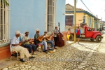 Strassenmusiker in der Altstadt, Trinidad, Cuba, 24.01.2015 [(c) Christian Behring, www.christian-behring.com]