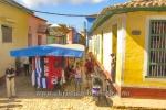 Kunsthandwerkermarkt in der Calle Pablo Pich Geron, Trinidad, Cuba, 24.01.2015 [(c) Christian Behring, www.christian-behring.com]
