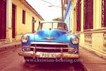Chevrolet-Oldtimer in der Altstadt, Santa Clara, Cuba, 25.01.2015 [(c) Christian Behring, www.christian-behring.com]