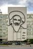 """Innenministerium, mit einem Bildnis von Che Guevara und dem Spruch """"Hasta la Victoria Siempre"""" (immer bis zum Sieg) , Plaza de la Revolucion, Havanna, Cuba, 26.01.2015[Photo: Christian Behring]"""