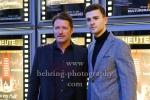 """Bruno Eyron (Schauspieler und Produzent), Patrick Moelleken (Schauspieler), bei der Berlin-Premiere von """"Das letzte Mahl"""", Roter Teppich im Kino in der Kulturbrauerei, Berlin, 30.01.2019"""