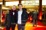 """""""DEUTSCHER HOERFILMPREIS 2018"""", Jonah und Jascha Rust, Roter Teppich zur Preisverleihung vor dem Kino International, Berlin, 20.03.2018"""