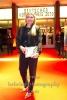 """""""DEUTSCHER HOERFILMPREIS 2018"""", Moderatorin Leslie Nachmann, Roter Teppich zur Preisverleihung vor dem Kino International, Berlin, 20.03.2018"""