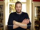 """Die Bergretter"" (6 Folgen ab 17.11.2015 um 20.15 Uhr im ZDF), Sebastian Stroebel, Photo Call im Cafe Einstein, Berlin, 02.11.2016 [Photo: Christian Behring]"