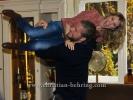 """""""Die Bergretter"""" (6 Folgen ab 17.11.2015 um 20.15 Uhr im ZDF), Luise Baehr und Sebastian Stroebel, Photo Call im Cafe Einstein, Berlin, 02.11.2016 [Photo: Christian Behring]"""