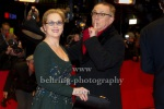 """Meryl Streep and Dieter Kosslick at the """"Closing Ceremony"""" - red carpet during 66th Berlinale International Film Festival at the Berlinale-Palast, 20.02.16 in Berlin, Germany,"""
