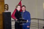 Florian Lukas, Lisa Wagner, WEISSENSEE, Stasi-Museum in Berlin, 04.11.2014, Photo Call am Set (Photo: Christian Behring)