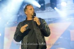 """""""Die Fantastischen Vier"""", Smudo, Konzert im IFA Sommergarten, Berlin, 01.09.2016 [Photo: Christian Behring]"""