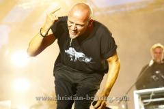 """""""Die Fantastischen Vier"""", Thomas D, Konzert im IFA Sommergarten, Berlin, 01.09.2016 [Photo: Christian Behring]"""