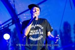 """""""Die Fantastischen Vier"""", Michi Beck, Konzert im IFA Sommergarten, Berlin, 01.09.2016 [Photo: Christian Behring]"""