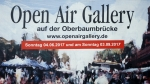 OPEN AIR GALLERY, Oberbaumbrücke, Berlin, 03.09.2017 (Photo: Christian Behring)