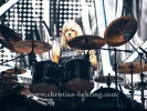"""SCORPIONS"", Mikkey Dee (drums), ""50th Anniversary-Welttournee"", Konzert in der Mercedes-Benz-Arena in Berlin, 02.12.2016 [Photo: Christian Behring]"