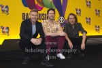 "Gary Barlow, Howard Donald, Mark Owen  - ""THE BAND - Das Musical"", Photo Call, Take That besuchen die Proben ihres Musicals in Berlin, Theater des Westens, Berlin, 01.04.2019"