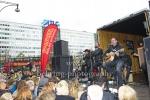 """The BossHoss"", Konzert, SECRET Guerilla Aktion, Alexanderstrasse vor dem ParkIn Hotel, Berlin, 27.10.2018 (Photo: Christian Behring)"