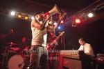 The Heavy, Konzert der britischen Indierock-Band im Berliner Frannz, Berlin, 06.11.2012, MOTIV: Saenger Kelvin Swaby, Bassist Spencer Page,  (Photo: Christian Behring)