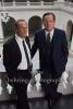 """""""Unterwerfung"""" (Verfilmung des Roman von Michel Houellebecq), Edgar Selge und Matthias Brandt, Lichthof des Hauptgebaeudes der TU, Haupteingang Strasse des 17. Juni, Berlin, 23.10.2017,"""