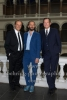 """""""Unterwerfung"""" (Verfilmung des Roman von Michel Houellebecq), Edgar Selge und Matthias Brandt unter der Regie von Titus Selge (Bildmitte), Lichthof des Hauptgebaeudes der TU, Haupteingang Strasse des 17. Juni, Berlin, 23.10.2017,"""