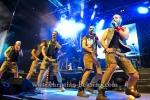 """Voxxclub"", Michi, Stefan, Flo, Bini, Christian, Konzert in Huxleys Neue Welt, Berlin, 16.11.2016 [Photo: Christian Behring]"