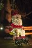 """Weihnachtsmann auf Parkbank, """"Weihnachten im Tierpark"""" (21.1119 - 05.01.2020), Lichtfest im Tierpark, Berlin, 01.12.2019"""