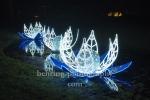 """Seerosen, """"Weihnachten im Tierpark"""" (21.1119 - 05.01.2020), Lichtfest im Tierpark, Berlin, 01.12.2019"""