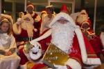 """Oberweihnachtsmann ehrenhalber mit dem Goldenen Buch der Weihnachtsmaenner, """"Weihnachten im Tierpark - Weihnachtsmannvollversammlung"""", Tierpark, Berlin, 01.12.2019"""