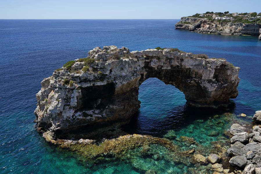 """Cala Santanyi"", Es Pontas auf Mallorca, 24.06.2016"