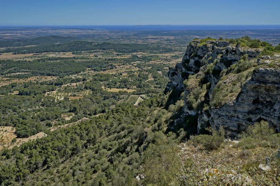 Puig de Randa, Tafelberg auf Mallorca, 22.06.2016