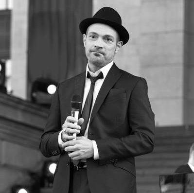 """CLASSIC OPEN AIR 2015 - Cicero sings Sinatra"", Roger Cicero, Konzert auf dem Gendarmenmarkt, Berlin, 06.07.2015"