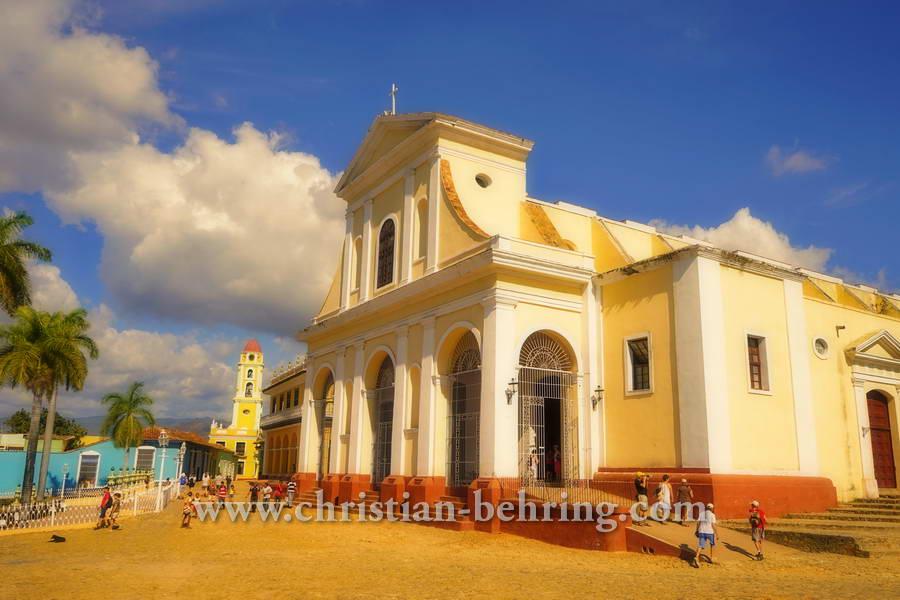 """""""Faszination CUBA"""", Kathedrale in Trinidad, Rundreise durch den Westen Cubas, vom 19.01.2015 bis 01.02.2015"""