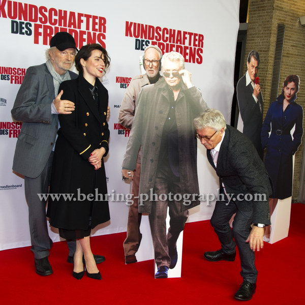 """KUNDSCHAFTER DES FRIEDENS"", Premiere im Kino INTERNATIONAL, Berlin, 17.01.2017"