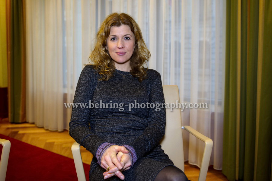 ZDF-Pressetag, Portrait Fiona Coors, Regent Hotel, Berlin, 24.01.2017