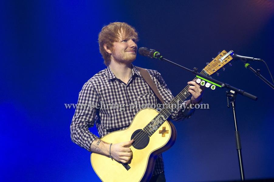Ed SHEERAN, Konzert in der Max-Schmeling-Halle, Berlin, 14.11.2014