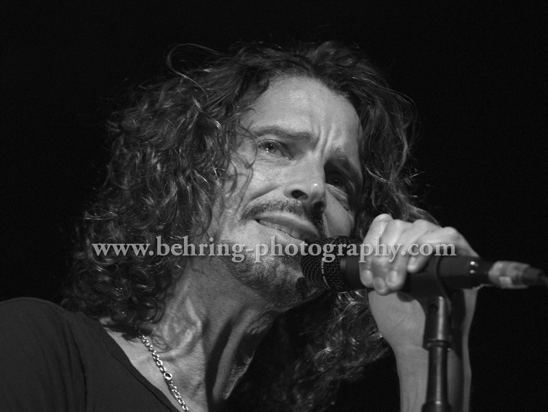 Chris Cornell (Singer), SOUNDGARDEN, Concert at the Columbiahalle, on September 10, 2013 in Berlin, Germany, (Photo: Christian Behring)