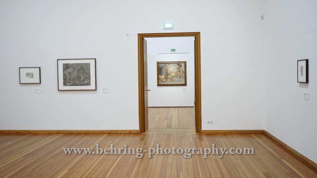 """""""LUCIAN FREUD: CLOSER"""", Ausstellung, Martin-Gropius-Bau, Berlin, 21.07.2017"""