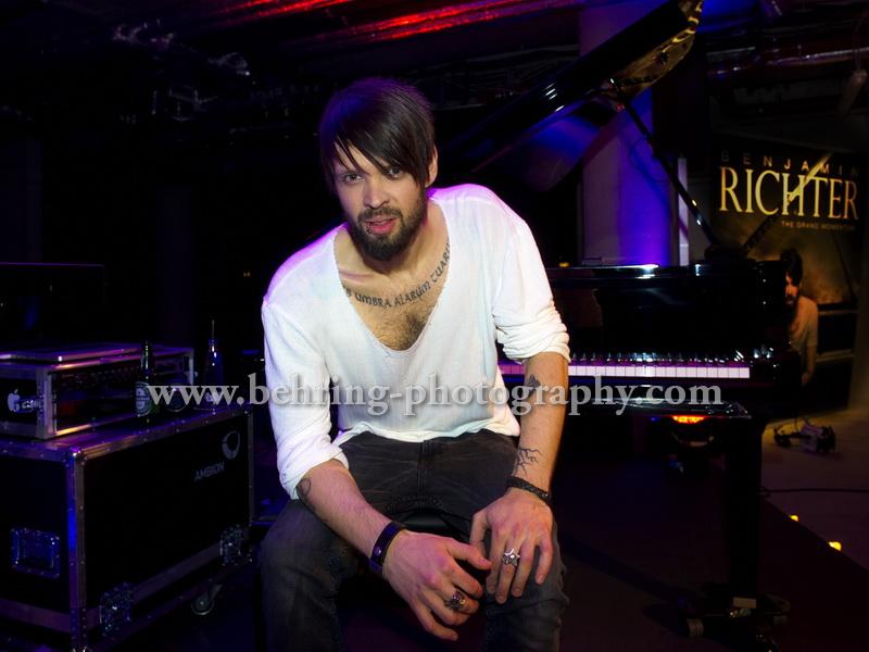 Benjamin RICHTER, Showcase im n-how Hotel, Berlin, 03.03.2015