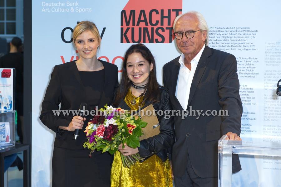 MACHT KUNST, Atrium Deutsche Bank, Berlin, 19.08.2017
