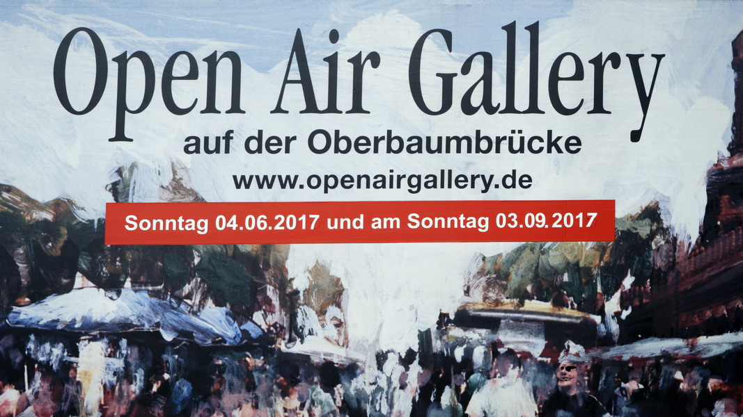 OPEN AIR GALLERY, in Berlin, 03.09.2017