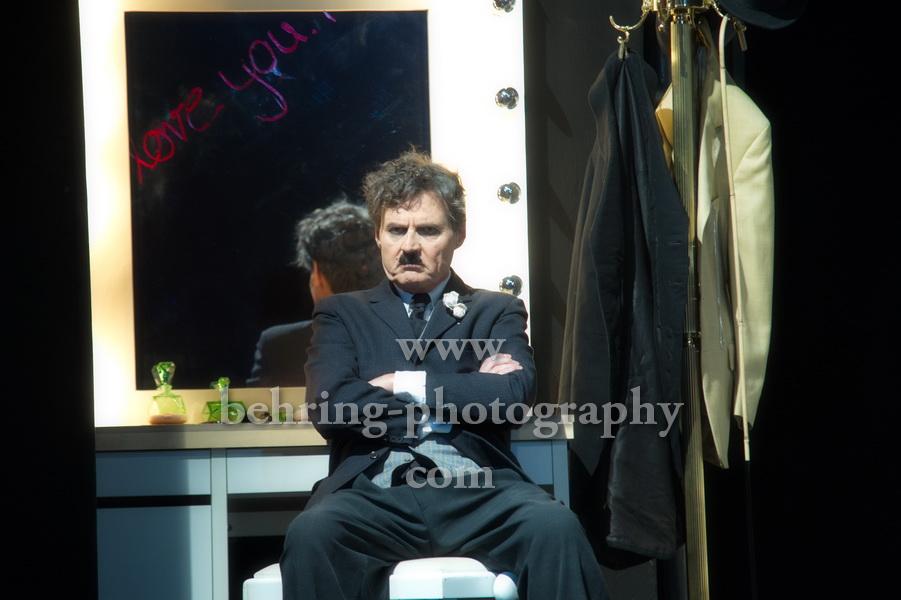 Wolfgang Bahro als Charlie Chaplin, Ein gewisser Charles Spencer Chaplin, Fotoprobe im Schlosspark Theater , Premiere am 14.10.2017